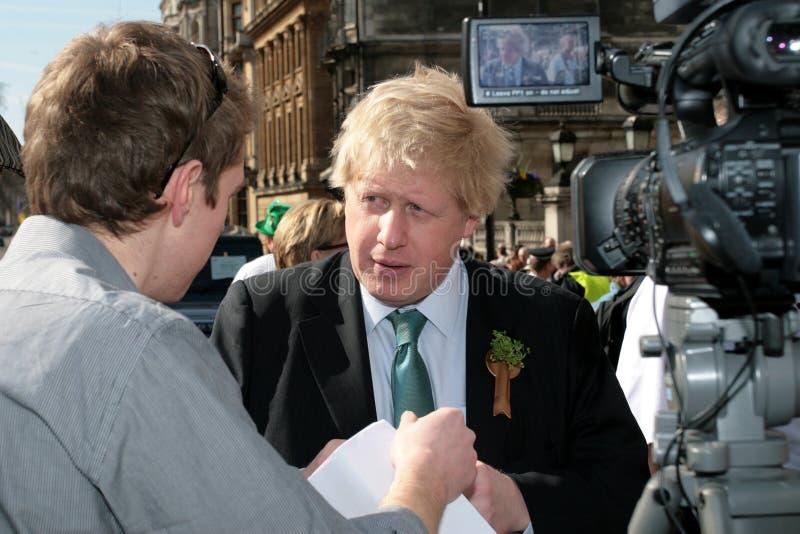 Boris Johnson, Mayor of London stock photos