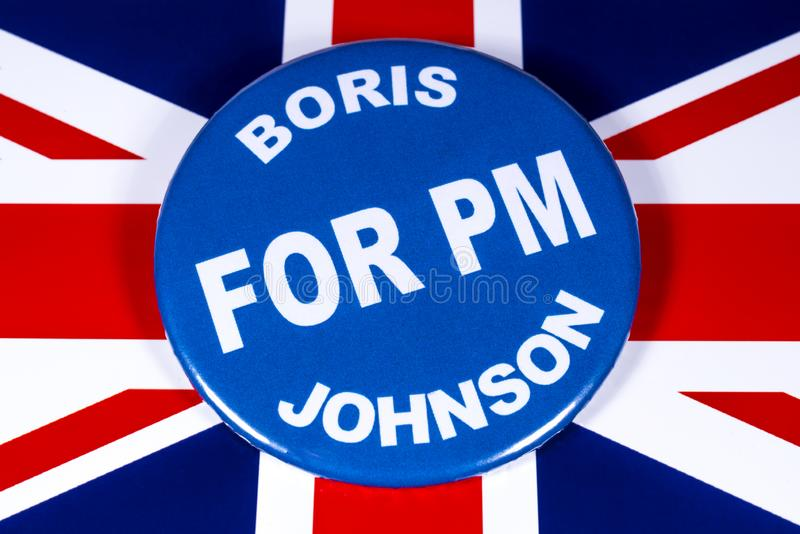 Boris Johnson para o primeiro ministro imagem de stock royalty free