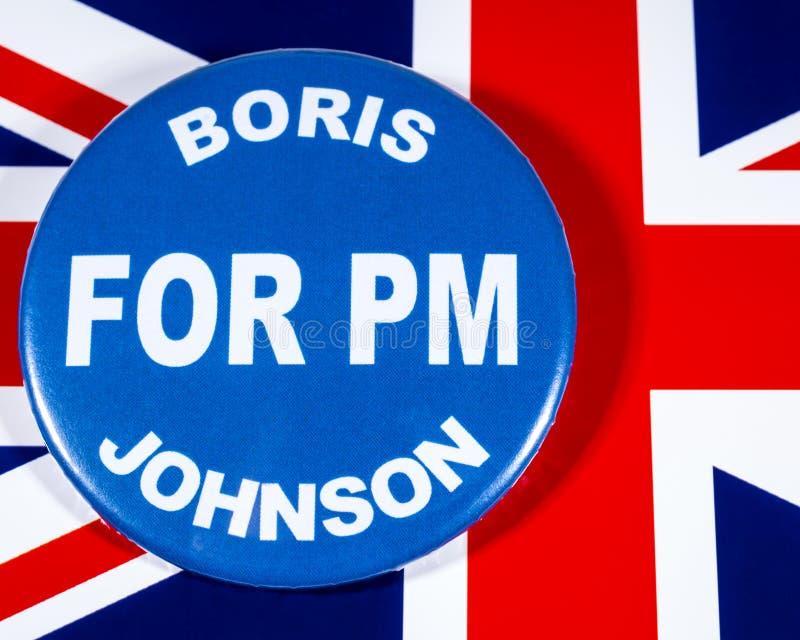 Boris Johnson para o primeiro ministro fotografia de stock royalty free