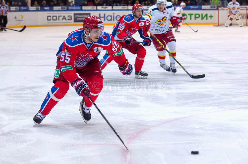 Boris Kiselevich (55) in action stock photography
