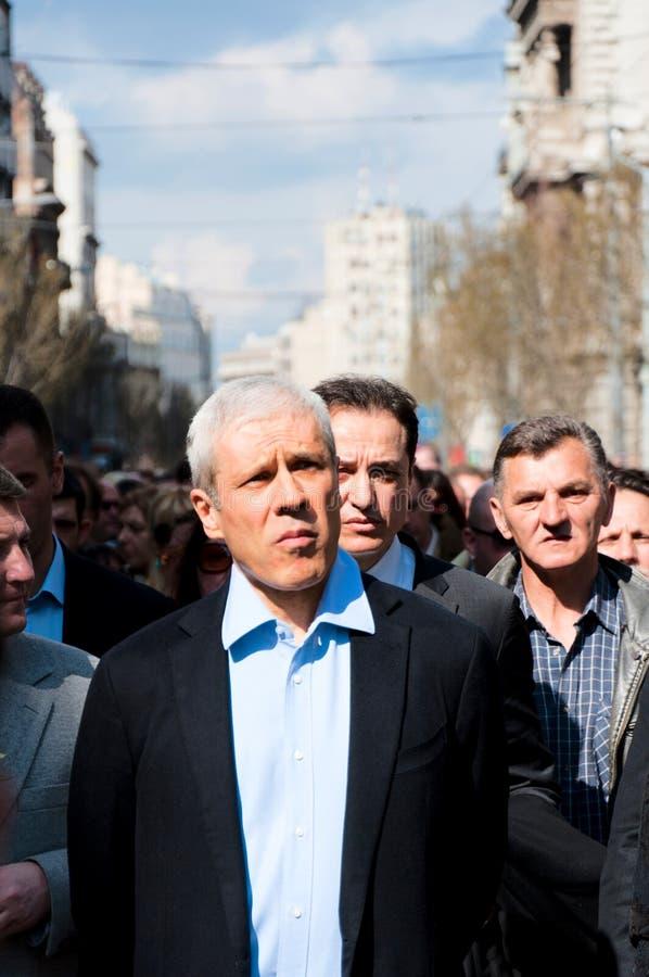 Boris Tadic zdjęcie royalty free