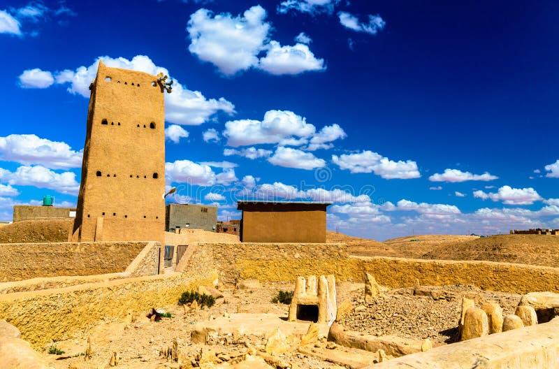 Borj Cheikh el Hadj in Beni Isguen, una città nella valle di Mzab, Algeria immagini stock