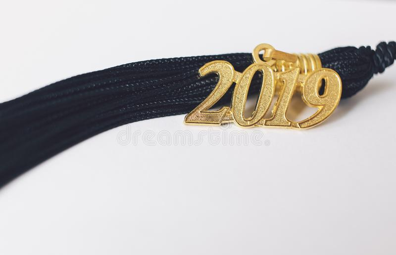 Borla 2019 de la graduación imagen de archivo