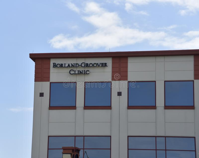 Borland Grover Clinic, Jacksonville, Florida royalty free stock photography
