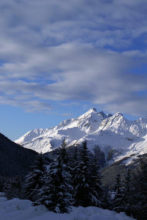 Bormio ski royalty free stock images
