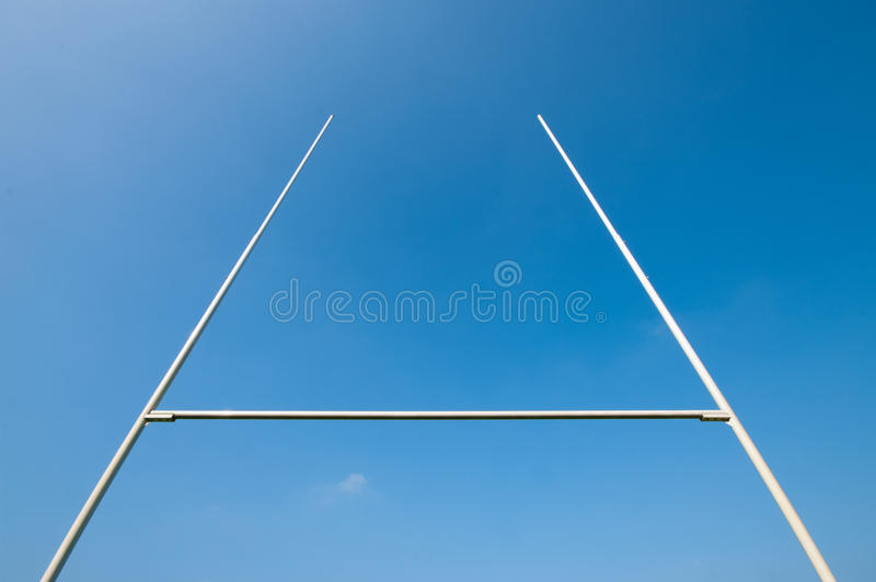 Borne do rugby fotografia de stock