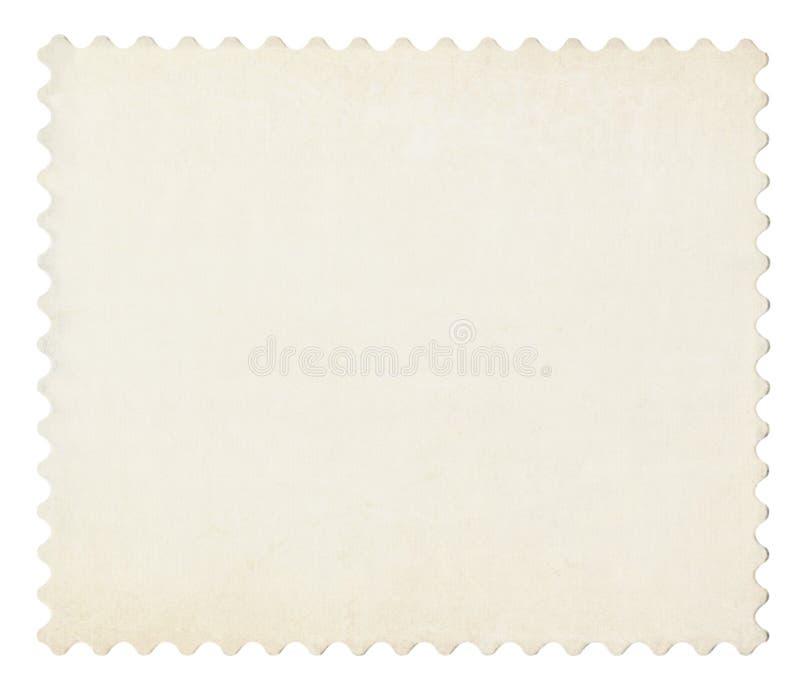 Borne em branco selo envelhecido isolado no branco. ilustração do vetor