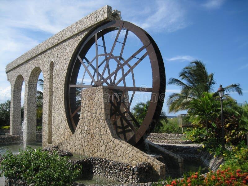 Borne limite dans Montego Bay photos stock