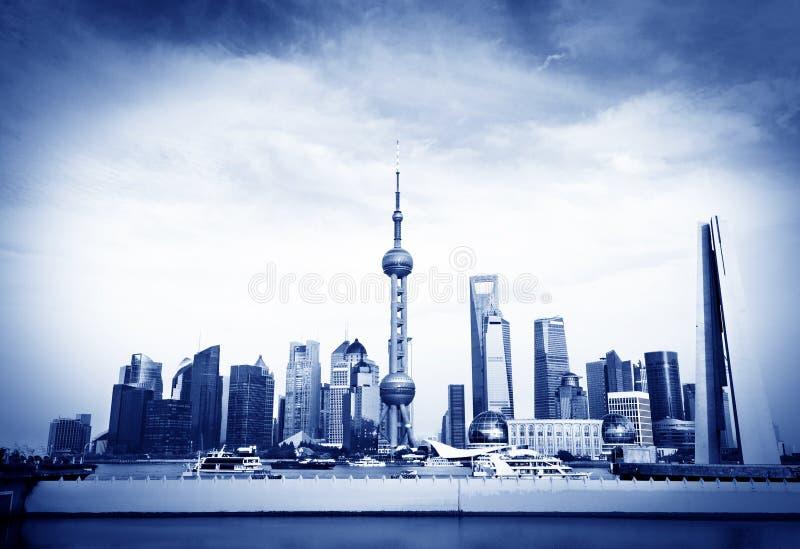 Borne limite de Changhaï photos stock