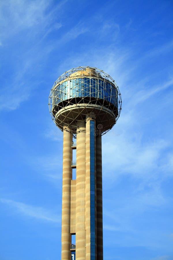 Borne limite de Dallas photographie stock