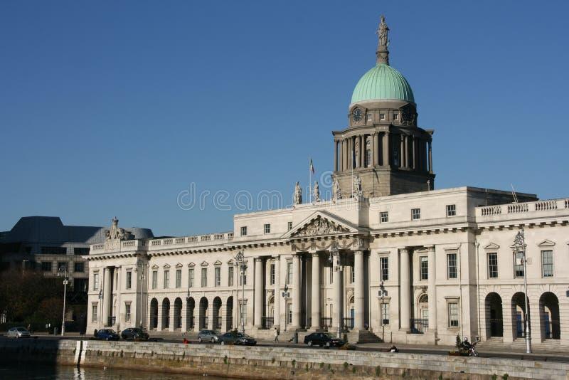 Borne limite de Dublin photo stock
