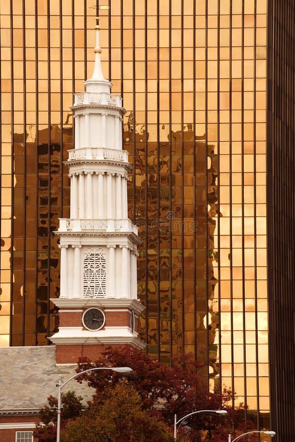 Borne limite de Hartford image libre de droits