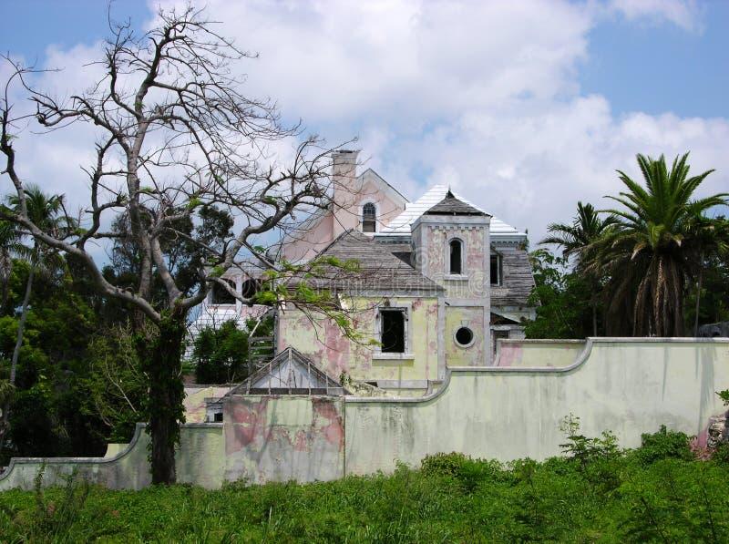 Borne limite de Nassau photo libre de droits