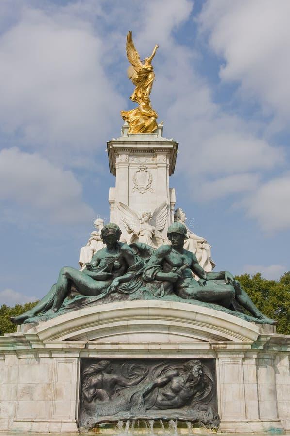 Borne limite de victoire de Londres images stock