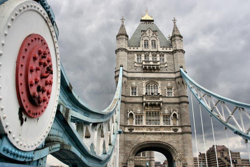 borne limite Londres photo stock