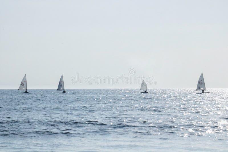 Borneo łodzie fotografia stock