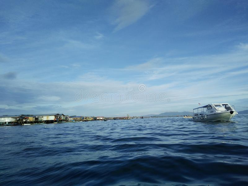 Borneo-Insel lizenzfreies stockfoto