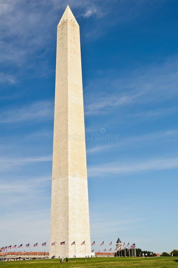 Bornes limites de Washington DC, monument de Washington. photo libre de droits