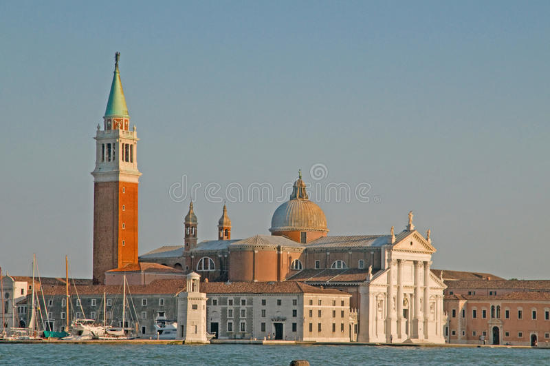bornes limites Venise photographie stock libre de droits