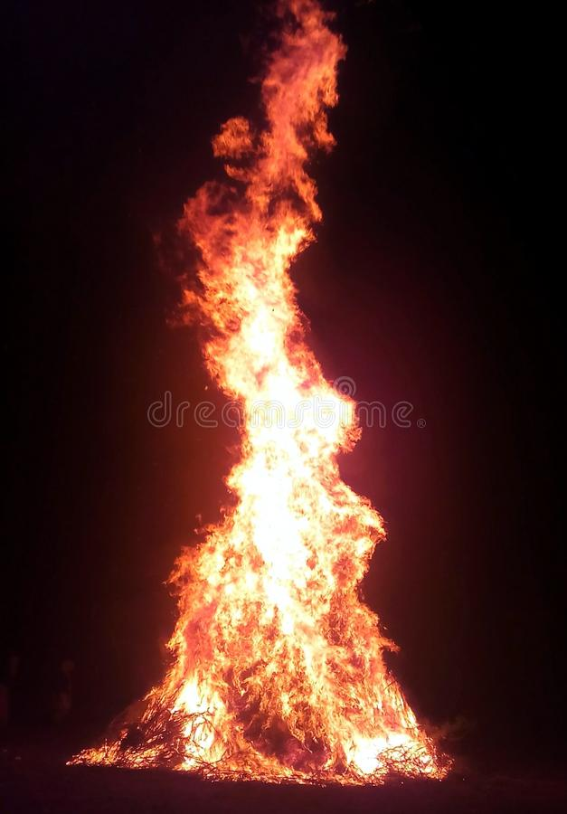 Bornfire стоковое фото rf