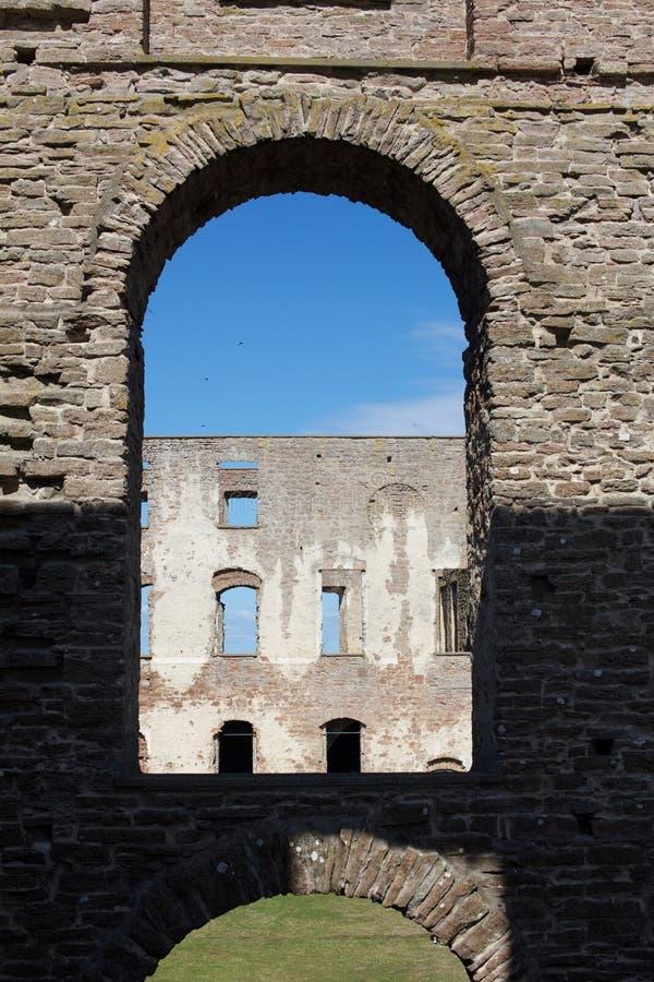 Bornholm castle stock image