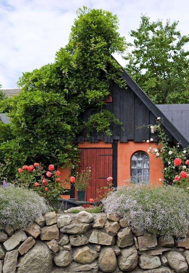 bornholm Denmark domowy nordic styl obraz stock