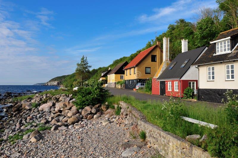 Download Bornholm-Insellandschaft stockbild. Bild von küste, straße - 16716593