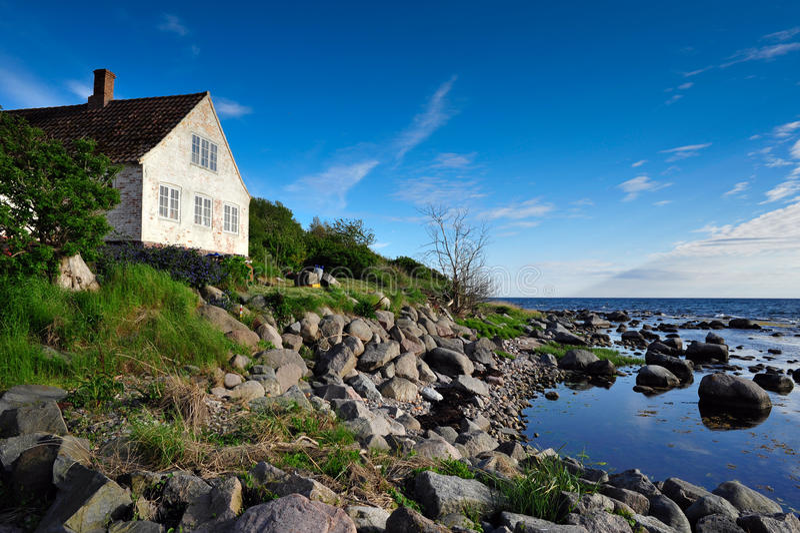 Download Bornholm island landscape stock photo. Image of home - 16716530