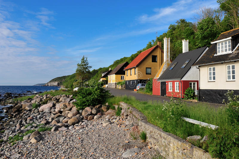 Download Bornholm island landscape stock image. Image of cliff - 16716593