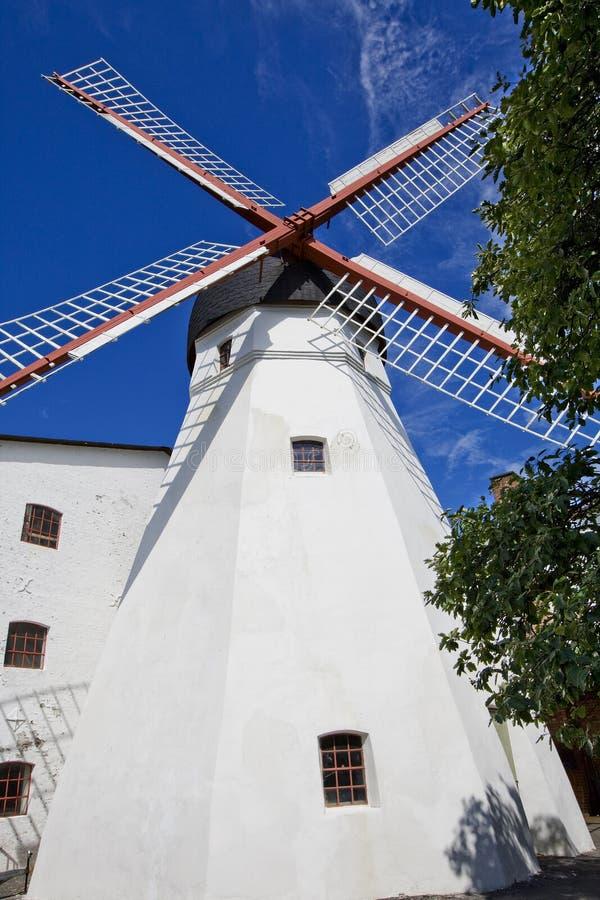 bornholm wiatraczek Denmark zdjęcia stock