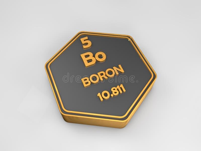 Boro bo forma hexagonal de la tabla peridica del elemento download boro bo forma hexagonal de la tabla peridica del elemento qumico stock de urtaz Gallery