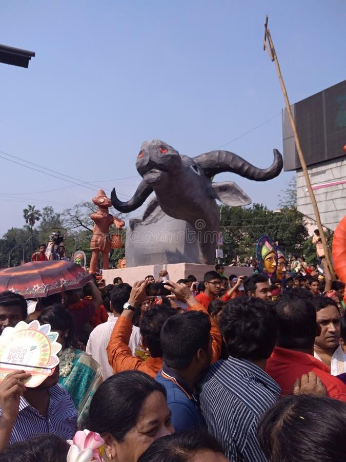 Boro 2018 de Borso do ano novo de Bangla foto de stock