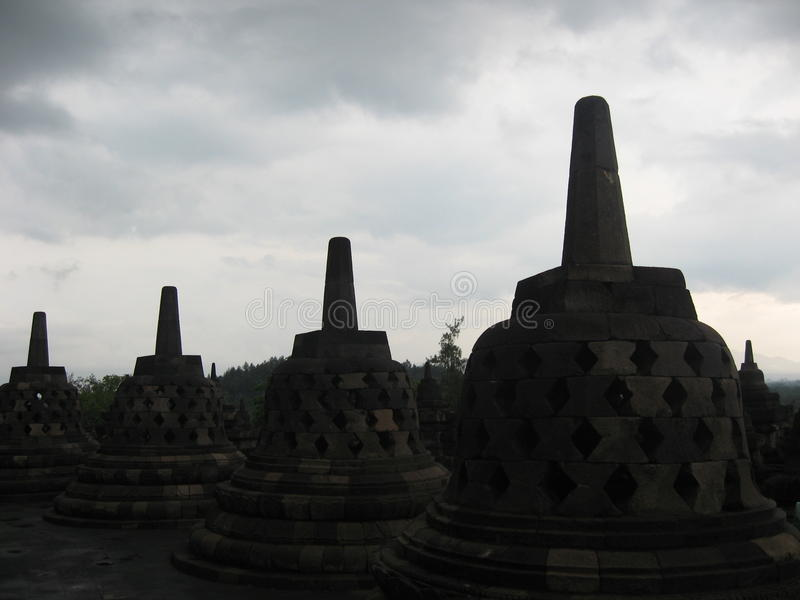 Borobodur, Indonesia stock photos