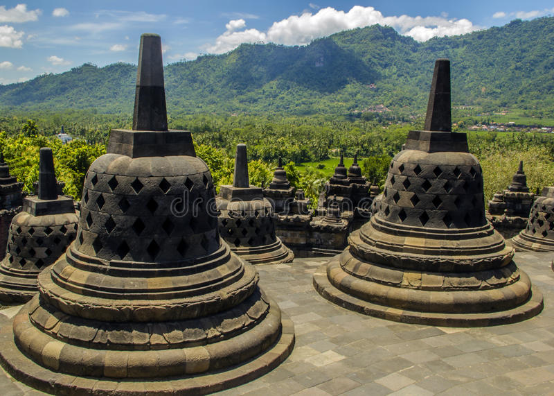 Borobodur - temple bouddhiste
