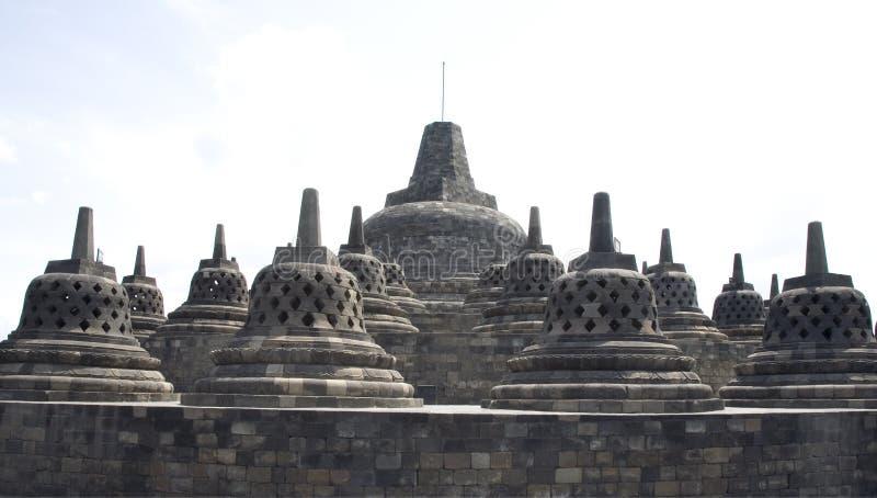 Borobudur 10 stockfotos