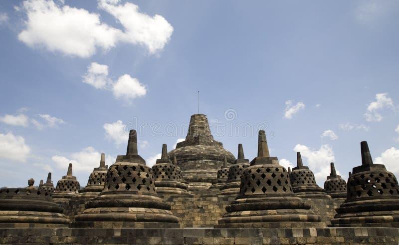 Borobudur 11 stock foto