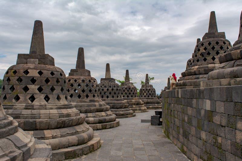 Borobudur immagine stock