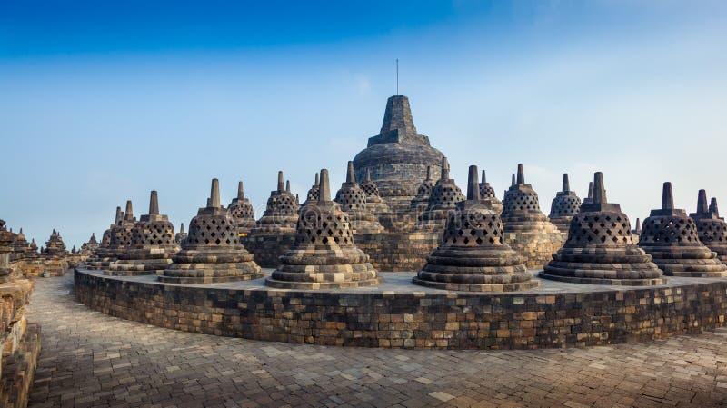 Borobudur immagine stock libera da diritti