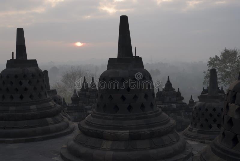 Borobudur fotografia stock libera da diritti