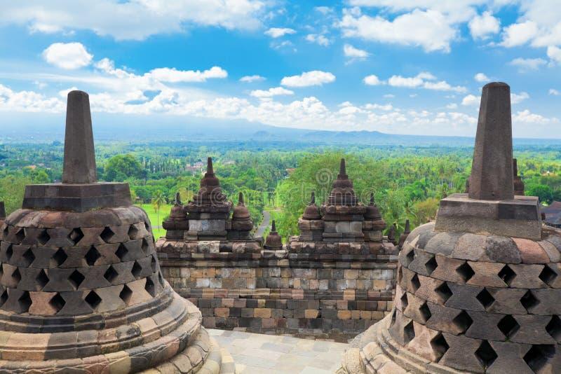 Borobudur stock images