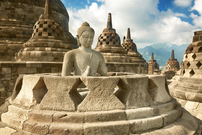Borobudur στοκ εικόνες