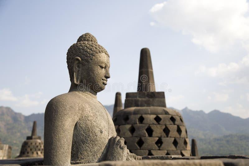 Borobudur 3 lizenzfreie stockfotos