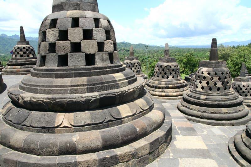 Borobudur fotografie stock