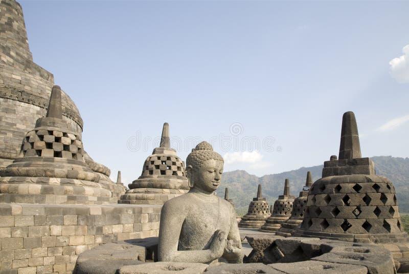 Borobudur 5 lizenzfreies stockbild