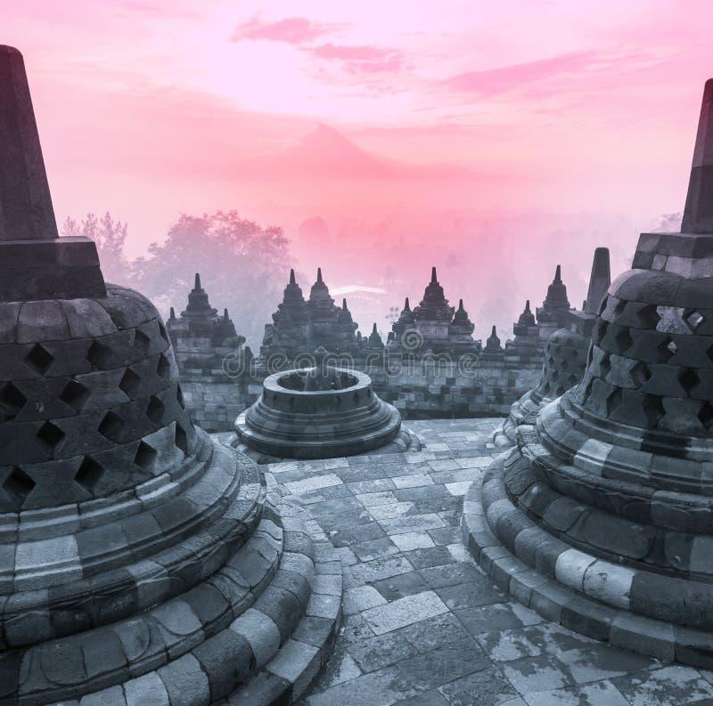 Borobudur imagen de archivo libre de regalías