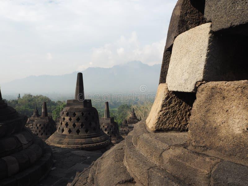 Borobudur fotos de stock royalty free