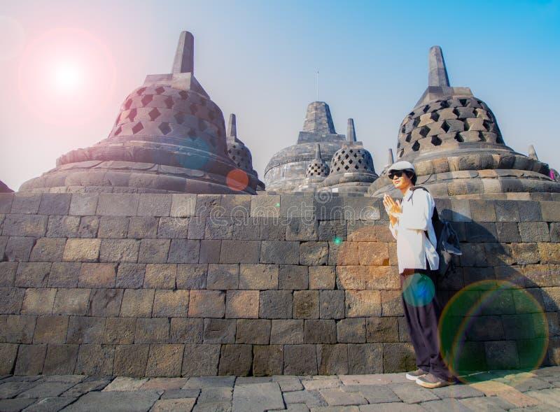 Borobudur immagini stock libere da diritti