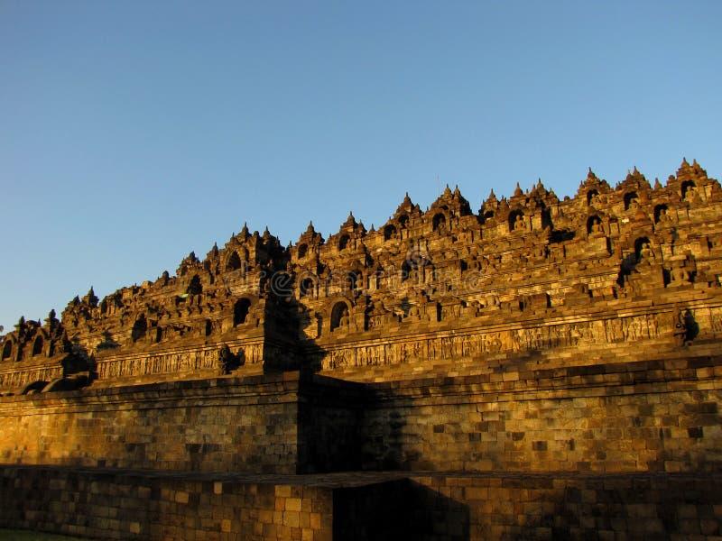 Borobudur ad alba immagini stock