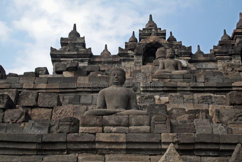 Borobudur Boedha stock foto