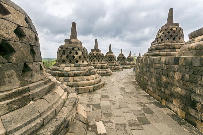 Borobudur royalty free stock images